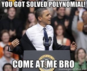 polynomials 2